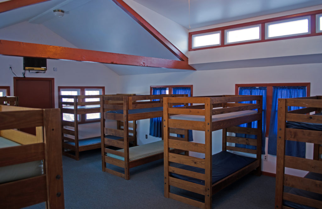 Log Cabin Dorm Room