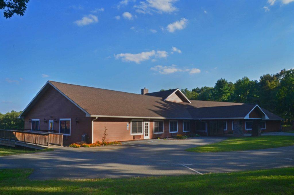 Image of the Christ Center, single story retreat housing