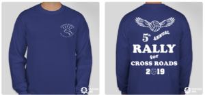 Rally for Cross Roads 5th Annual Tshirt