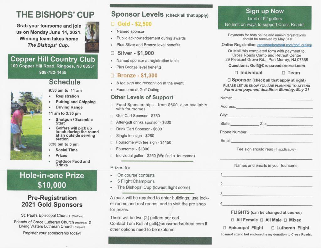 2021 Bishops' Cup Brochure